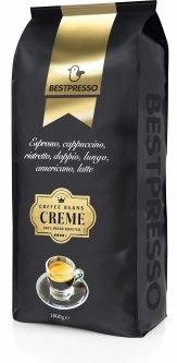 Кофе в зернах Bestpresso Creme 1 кг (5410958132848)