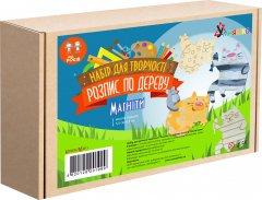 Набор для творчества Умняшка Роспись по дереву Магниты-весёлые коты (РД-011) (4820129201999)
