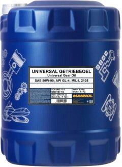 Трансмиссионное масло Mannol Universal Getriebeoel 80W-90 10 л (265/10)