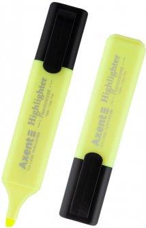 Набор текстовых маркеров Delta by Axent Highlighte Желтый 1-5 мм 12 шт (2531-08-A)