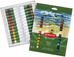 Набор акварельных красок Derwent Academy 24 цвета 12 мл (98222)