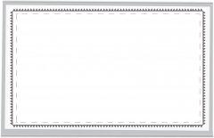 Набор бейджей Centrum горизонтальный 25х35 мм 12 шт (8013212) (2000998451875)