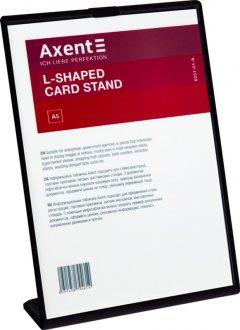 Табличка информационная Axent А5 односторонняя L-образная 148 х 210 мм Черная (6251-01-A)