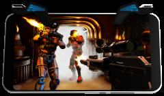 Игровой набор триггеров Arkade с футляром для Android/iOS Black (850002584073)