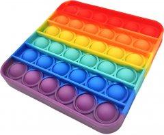 Игрушка-антистресс Pop-it QL042976 квадрат радуга (QL042976_square) (2218062021187)