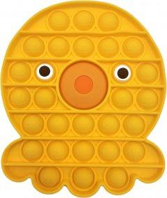 Игрушка-антистресс Pop-it QL040069 осьминог желтый (QL040069_octopus) (2218062021196)