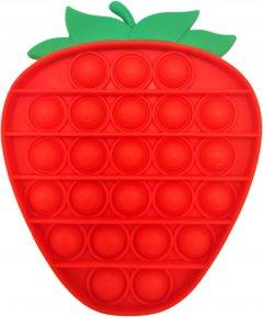 Игрушка-антистресс Pop-it QL050478 клубника красный (QL050478_strawberry) (2218062021200)