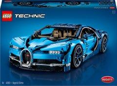 Конструктор LEGO TECHNIC Bugatti Chiron 3599 деталей (42083) (5702016116977)