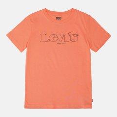 Футболка детская Levi's Fashion LVB SS Graphic Tee 8ED414-N0L 110-116 см Розовая (3665115351286)