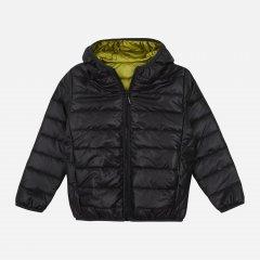 Демисезонная куртка двусторонняя Z16 2ПЛ103 (3-10) 122 см Черная (ROZ6400142766)