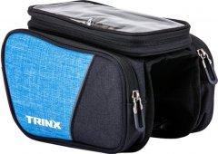 Сумка на раму Trinx TB70 Black-Blue (TB70.Blue)