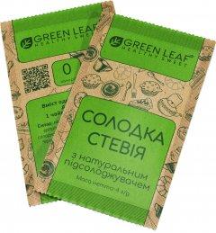Green Leaf Сладкая Стевия 1:1 саше 4 г х 100 шт (4820236270154)