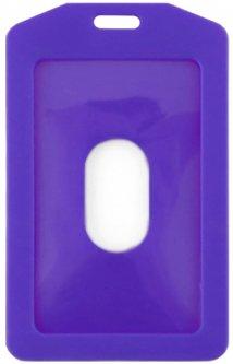 Набор бейджей KLERK вертикальный 68 x 110 мм 10 шт Фиолетовый (Я19768_KL1202_ф)