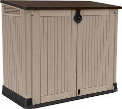 Ящик для хранения Keter Store-It-Out Midi 845 л Бежевый с коричневым (7290103663865)