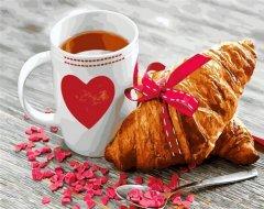 Картина по номерам Bookopt Завтрак любимой 50х40 см (bk_1232) (2252520893015)