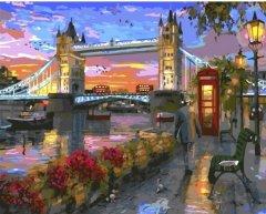 Картина по номерам Bookopt Лондонский мост 50х40 см (bk_1030) (2252523104019)