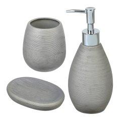 Набор аксессуаров для ванной комнаты VOLVER Bees 3 предмета SL
