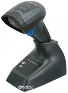 Сканер штрих-кодов Datalogic QuickScan I QBT2430 с базой, USB, RS232, Bluetooth (QBT2430-BK-BTK2)