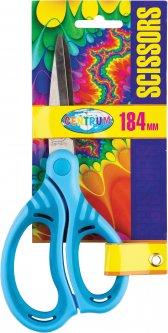 Ножницы Centrum с резиновыми вставками 18.4 см Голубые (880001) (2000998452131)