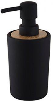 Дозатор для жидкого мыла BISK Plain 06572 350 мл черный