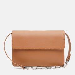 Женская сумка кожаная Kachorovska CB Carrie-L0841 Бежевая