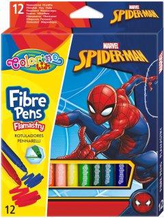 Фломастеры Colorino Spiderman 12 цветов 12 шт (91871PTR)