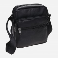 Мужская сумка кожаная Laras k102610 Black (ROZ6300004238)