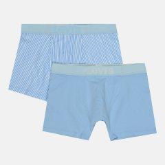 Трусы-шорты Levi's 100001635-001 XL 2 шт Light Blue (8720245092388)