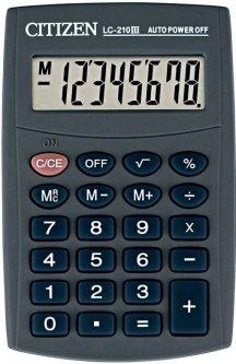 Калькулятор Citizen (LC-210)