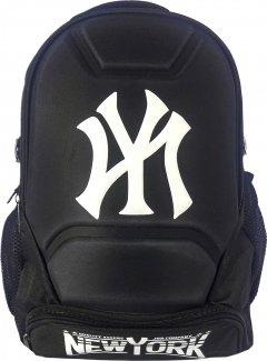 Рюкзак New York 550 г 44x30x12 см 15.8 л Черный с белым (Я46322_VR24296_чорний з білим)