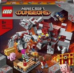 Конструктор LEGO Minecraft Битва за красную пыль 504 детали (21163)