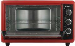 Электрическая печь ASEL АF50-23 красный