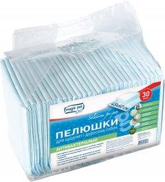 Пеленки антибактериальные Magic Pet с древесным углем 45 х 60 см 30 шт (10012 / 6952981600196)