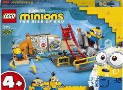 Конструктор LEGO Minions Миньоны в лаборатории Грю 87 деталей (75546)