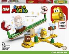 Конструктор LEGO Super Mario Мощная атака Растения-пираньи дополнительный набор 217 деталей (71365)