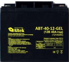 Аккумуляторная батарея Altek ABT-40Аh/12V GEL 12V 40Ah (2114219)
