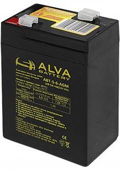 Аккумуляторная батарея Altek ABT-5Аh/6V AGM 6V 5Ah (2114214)