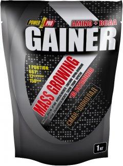 Гейнер Power Pro Gainer 1 кг Шоколад (4820214002425)