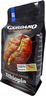 Кофе в зернах Giordano Ethiopia 500 г (3800214005139)