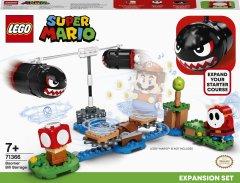 Конструктор LEGO Super Mario Огневой налёт Билла-банзай дополнительный набор 132 деталей (71366)