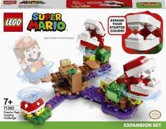 Конструктор LEGO Super Mario Головоломка с растением-пираньей. Дополнительный уровень. 267 деталей (71382)