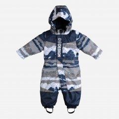 Зимний комбинезон Garden Baby 101030-63/32 80 см Серо-синяя абстракция/Синий (4821010306113)