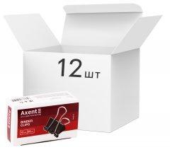 Набор биндеров Axent 25 мм 12 пачек по 12 шт (4402-A) (4250266252200)
