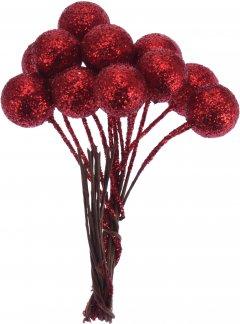 Ветка Christmas Decoration Гроздь ягод на проволоке 3 шт (CAA723300_medium)