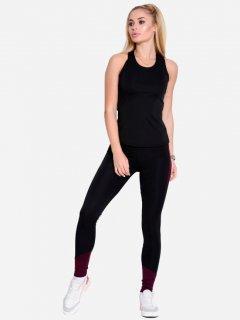 Спортивный костюм ISSA PLUS 1610 S Черно-бордовый (issa2000021754539)