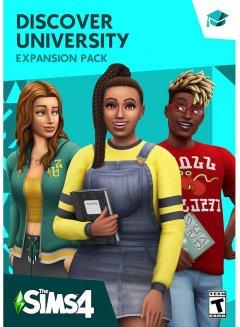 The Sims 4: В университете. DLC (дополнение) для ПК (PC-KEY, русская версия, электронный ключ в конверте)