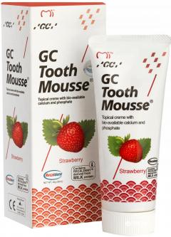 Крем для зубов GC Tooth Mousse Strawberry 35 мл (D6583286201)