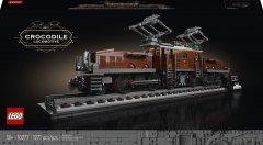 Конструктор LEGO Creator Expert Локомотив «Крокодил» 1271 деталей (10277)