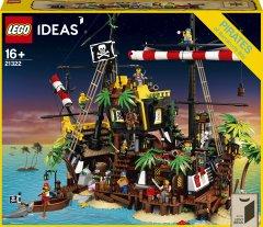 Конструктор LEGO Ideas Пираты из залива Барракуды 2545 деталей (21322)