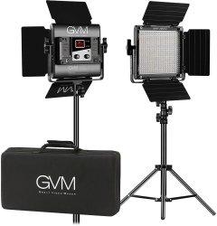 Набор постоянного LED видеосвета GVM Great Video Maker 560AS (3200-5600K) х2 (GVM-560AS-2L)